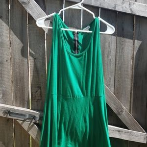 Green charming Charlie dress